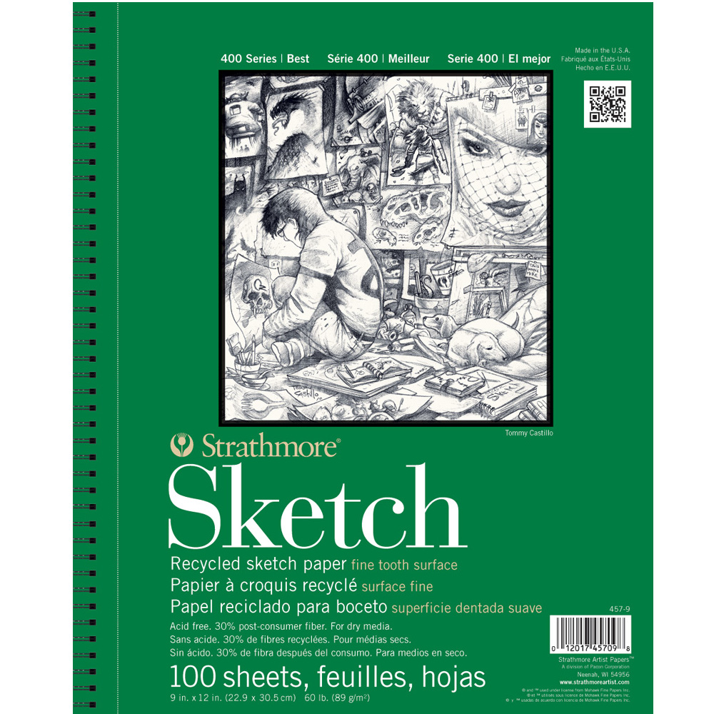 Image For Strathmore Recycled Sketch Pad