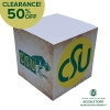 "Cover Image for CSU Ram Head Logo 3"" x 3"" Adhesive Note Pad"
