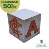 "Cover Image for CLEARANCE - CSU Vintage Logos 3"" x 3"" Adhesive Note Pad"