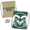 Image for Double Header Colorado State University Ram Head Sackpack