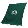 Image for Green Colorado State University Sweatshirt Blanket