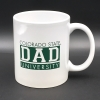Image for White Colorado State University Dad Mug
