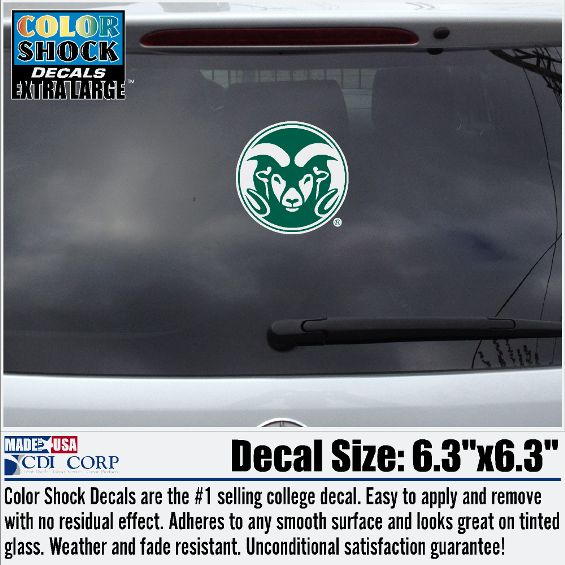 Colorado State Window Decals