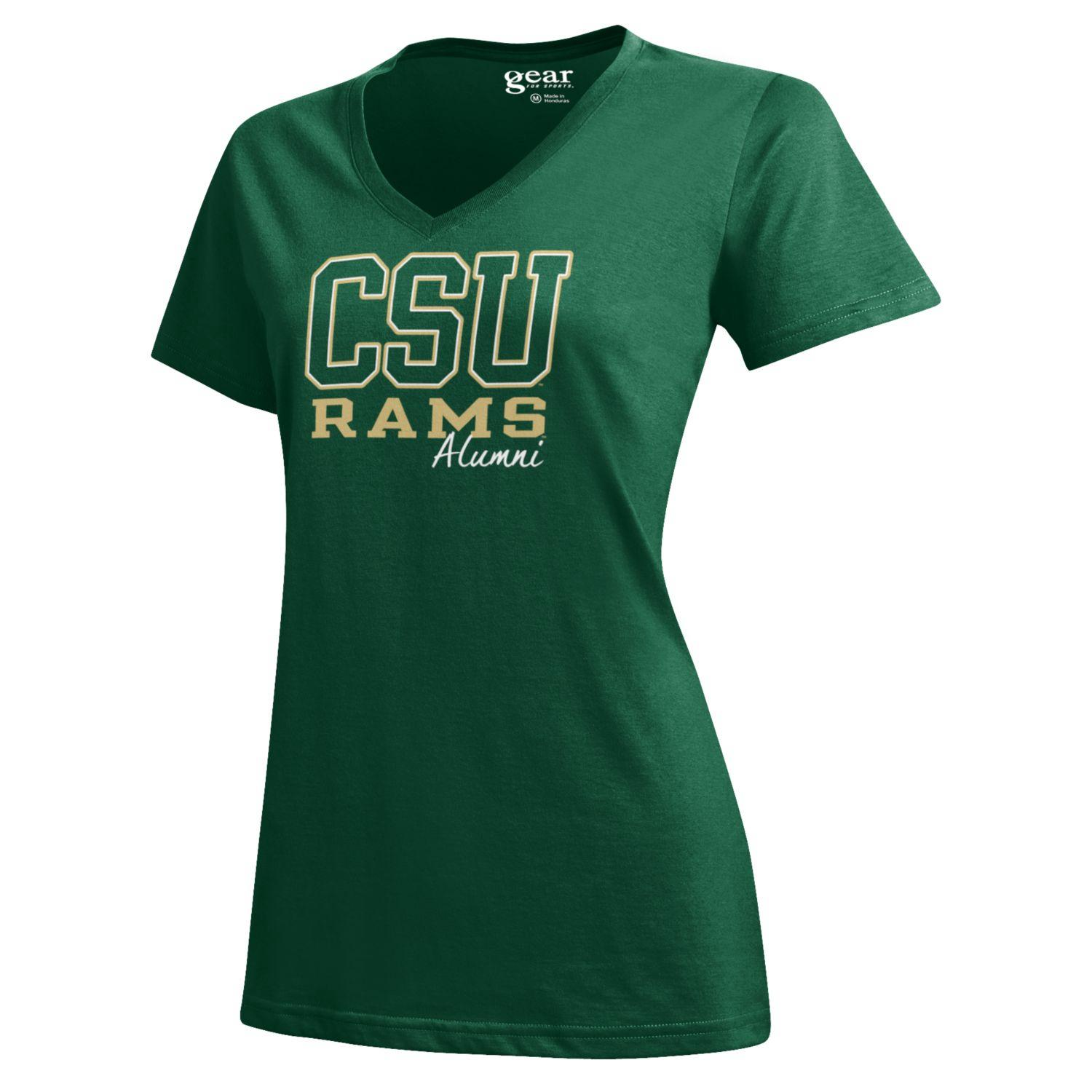 Image For Green Gear Colorado State University Alumni Tee