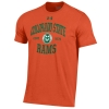 Image for Orange 60/40 Colorado State University Under Armour Tee