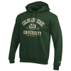 Green Champion Colorado State University Hooded Sweatshirt Image