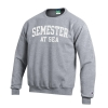 Cover Image for Navy Semester at Sea Fleece Crew Sweatshirt by Champion