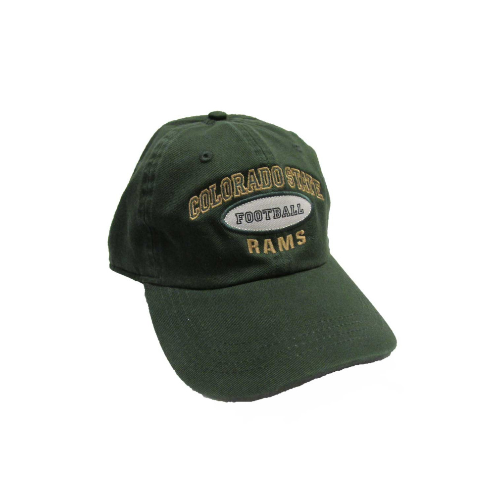 Image For Dark Green Colorado State University Football AHEAD Hat