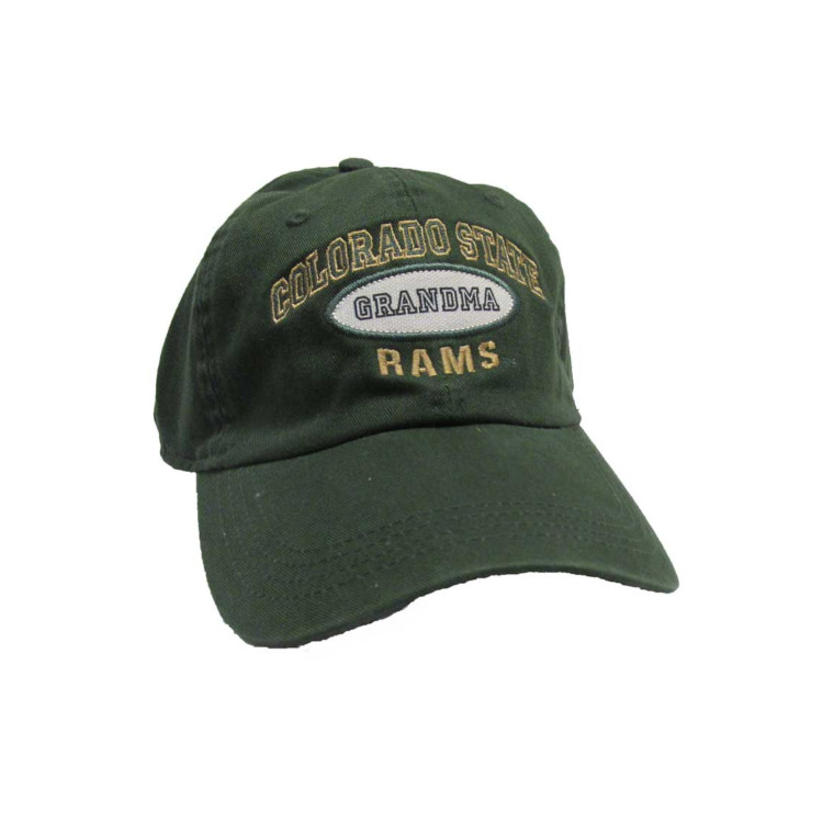 Image For Dark Green Grandma Hat