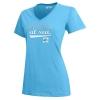 Image for Raindrop Blue Semester at Sea Women's Short Sleeve Tee