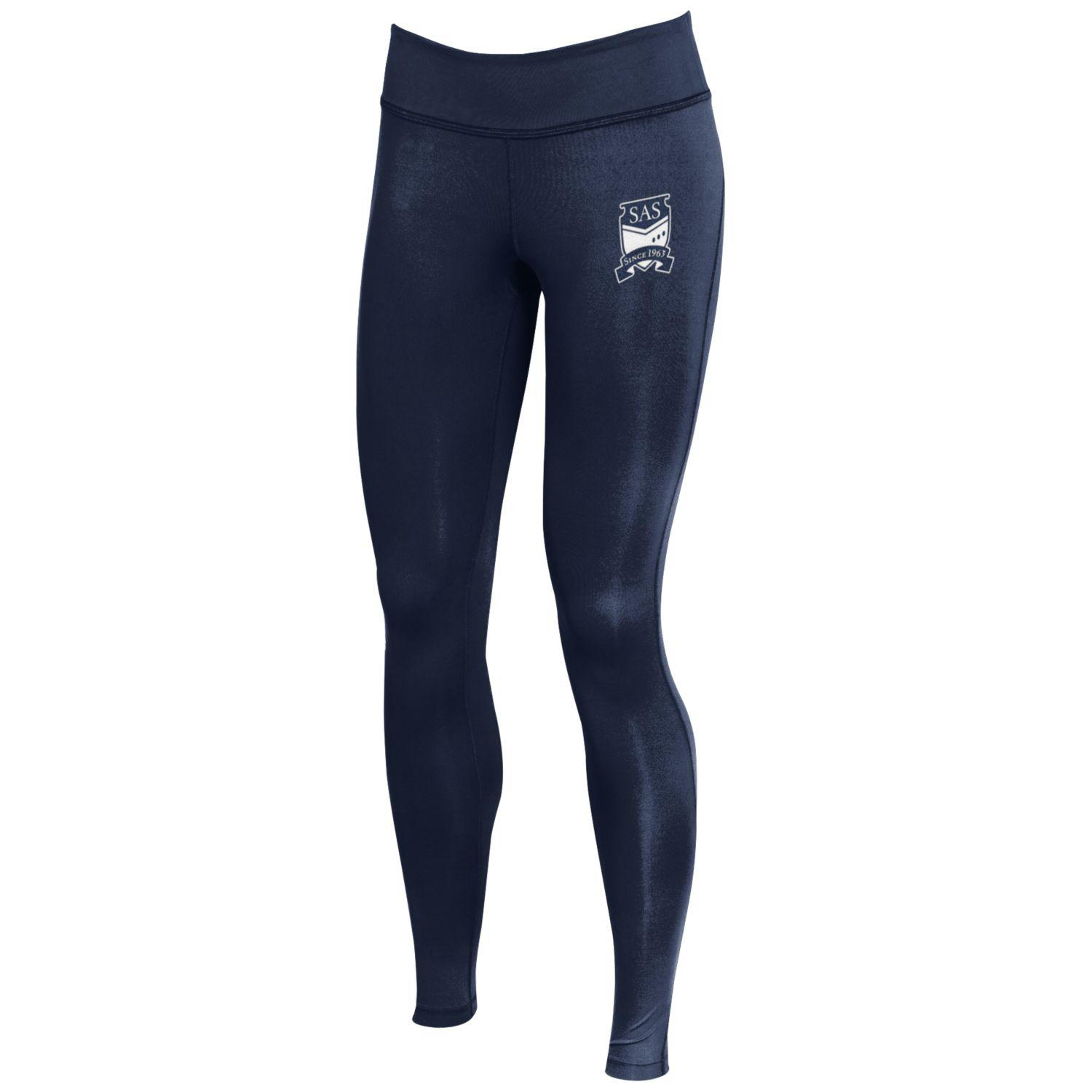 Cover Image For Semester at Sea Navy Sonic Legging by Under Armour