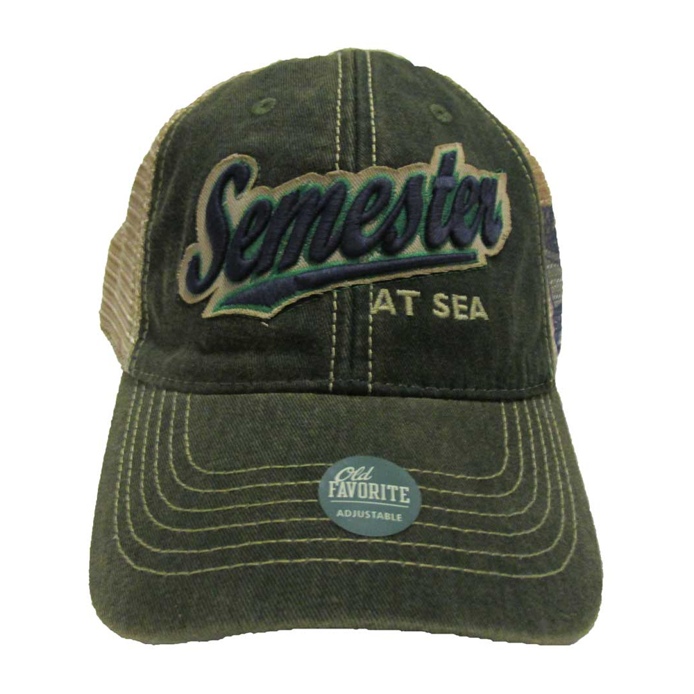 Image For Green Semester at Sea Trucker Hat