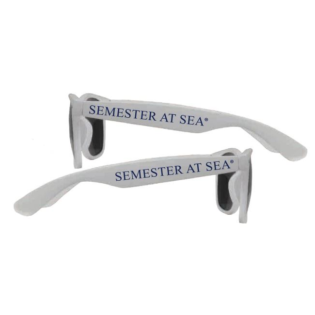 Cover Image For White Semester At Sea Sunglasses