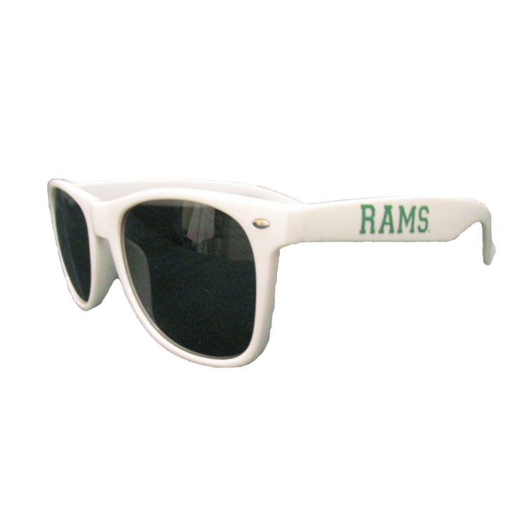 Image For White Colorado State University Rams Campus Sunglasses