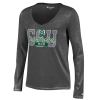 Image for Grey Colorado State Mom Champion Long Sleeve V-Neck