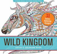 Image For Wild Kingdom Coloring Book