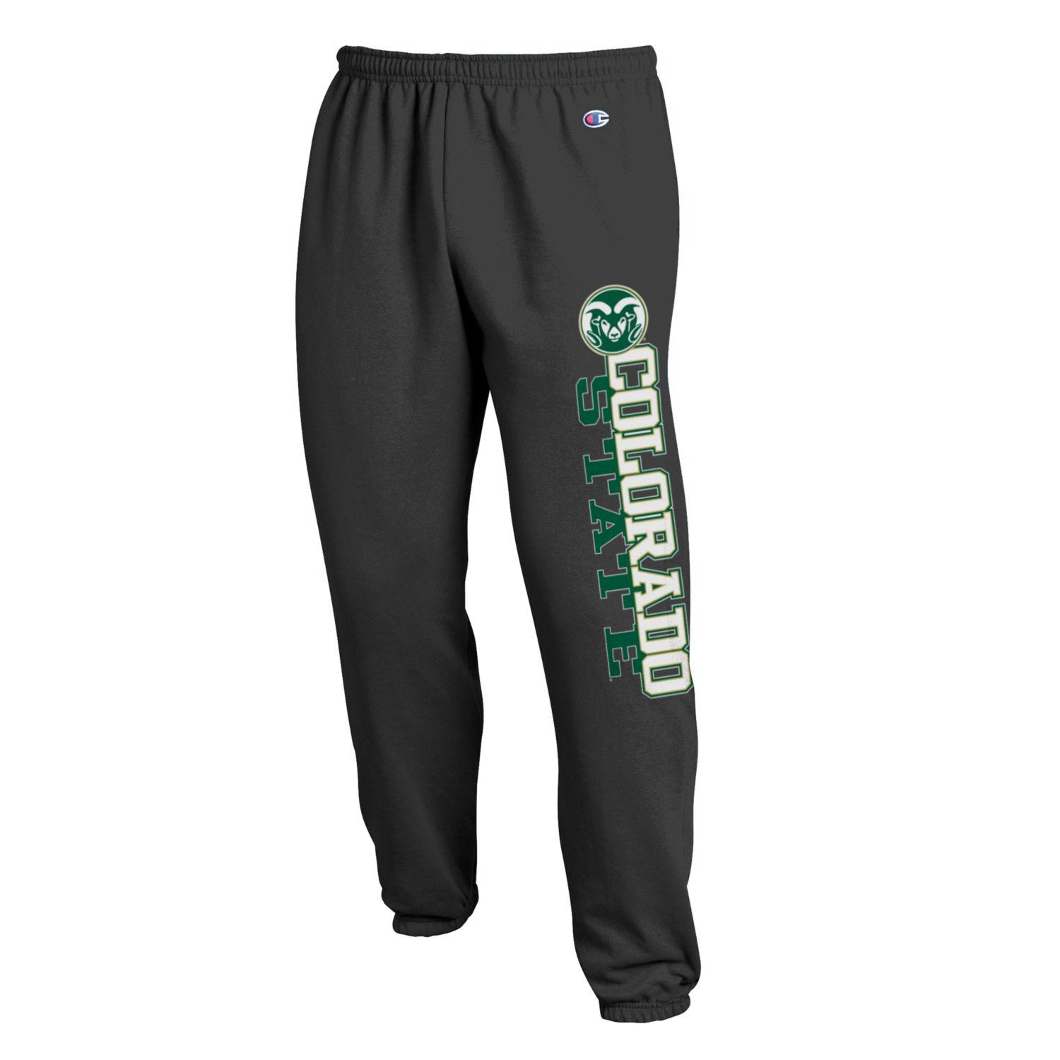 Cover Image For Charcoal Colorado State University Sweatpants by Champion