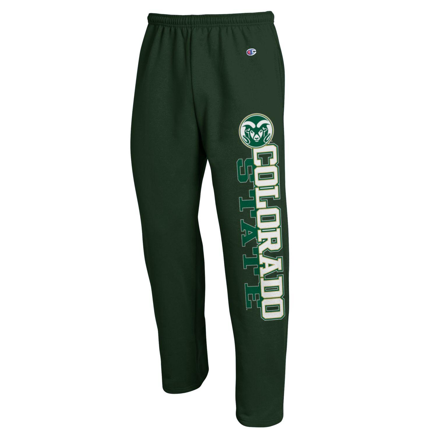 Cover Image For Champion Green Colorado State University Sweatpants