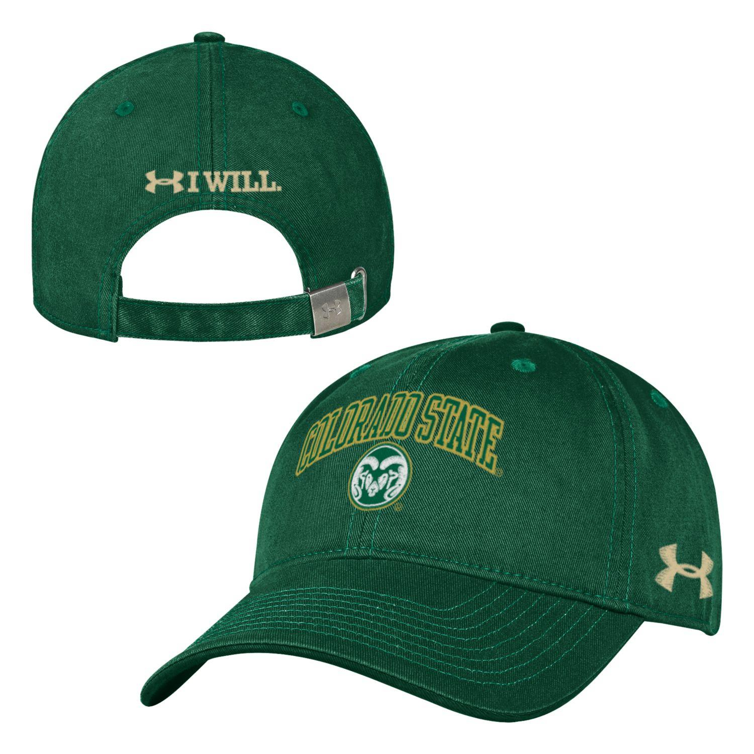 Image For Green Colorado State Under Armour Hat