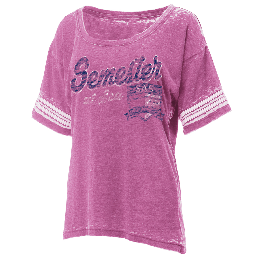 Image For Women's Pink Semester At Sea Crush Jersey by Ouray