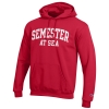 Image for Champion Scarlet Powerblend Fleece SAS Hooded Sweatshirt