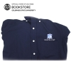 Cover Image for Men's Navy Semester at Sea 1/4 Zip Mock Neck Pullover