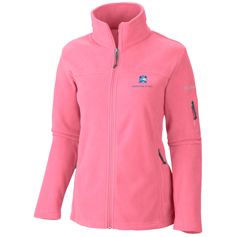 Image For Women's Columbia Semester at Sea Give and Go Full Zip Jacket