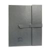 Image for SAS Leather Portfolio - Grey