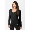 Image for Women's Black Long Sleeve Semester at Sea T-shirt