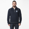 Image for Men's Navy Semester at Sea 1/4 Zip Mock Neck Pullover