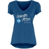 Image for Cobalt Liquid Jersey V-neck T-shirt