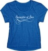 Image for Royal Blue Semester At Sea Triblend Tee
