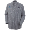 Image for Men's Navy Semester At Sea Long Sleeve Columbia Shirt