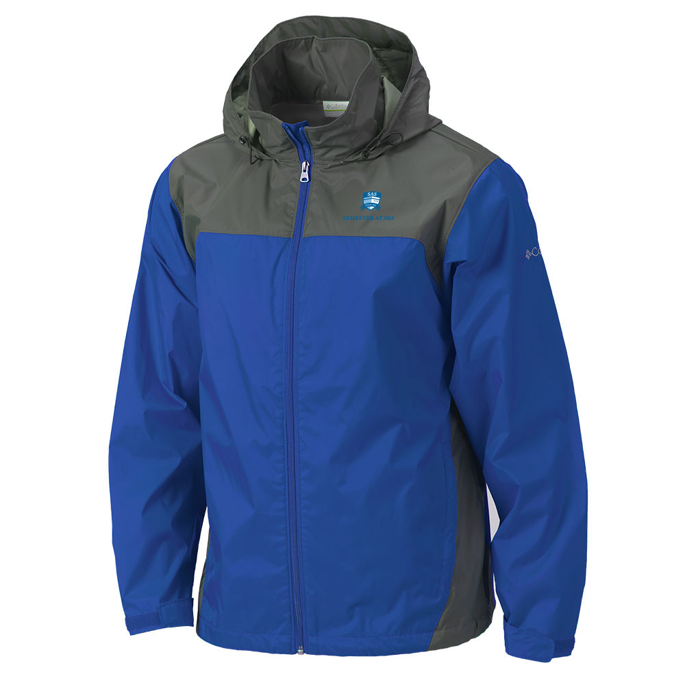 Cover Image For Blue Semester At Sea Columbia Glennaker Lake Jacket