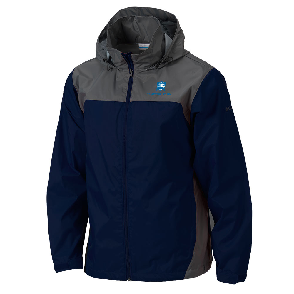 Cover Image For Navy Semester At Sea Columbia Glennaker Lake Jacket