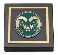 Cover Image For Colorado State University Paperweight
