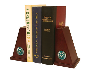 Cover Image For Colorado State University Spirit Brass Bookends
