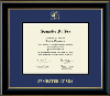 Image for Semester at Sea Gold Embossed Certificate Frame