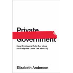 Image For Private Government by Elizabeth Anderson