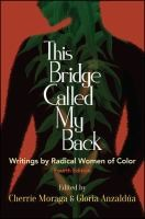 Image For This Bridge Called My Back by Cherrie Moraga