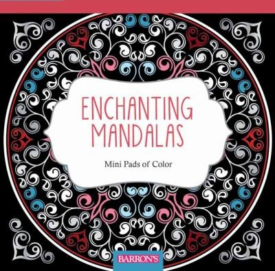Cover Image For Enchanting Mandalas Coloring Book