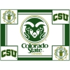 Cover Image for Boxercraft CSU Rams Grey Sherpa Blanket