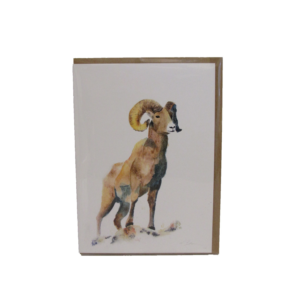 Image For Noble Ram Single Notecard by Conversketch