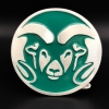 Image for CSU Rams Head Trailer Hitch Cover