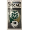 Image for Colorado State University Women's Soccer Shield Decal