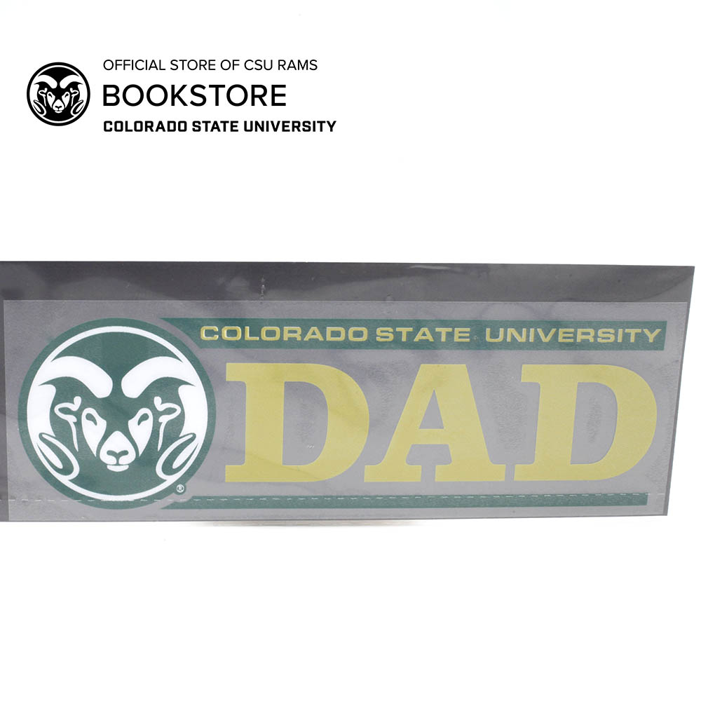 Image For CSU Rams Dad Decal