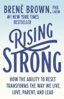 Image For Rising Strong by Brene Brown