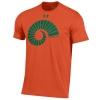 Image for Orange Colorado State Ram Horn Under Armour Tee