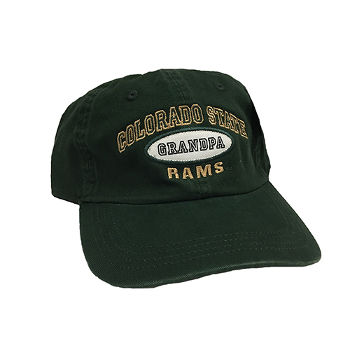 b8513bb4 Dark Green Colorado State University Grandpa AHEAD Hat