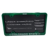 Colorado State University Dad License Plate Frame Image